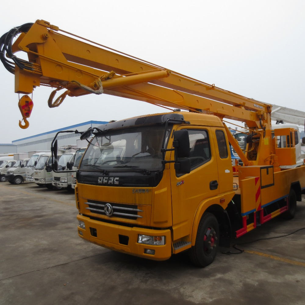 Factory supply dongfeng 4x2 20m aerial work platform truck