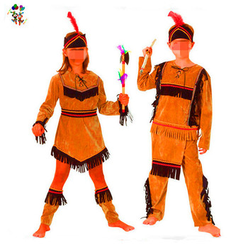 Cheap Boys and Girls Indian Fancy Dress Party Costumes HPC-3145