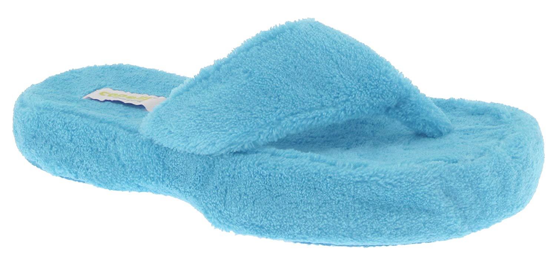 Capelli New York Ladies Micro Cozy Indoor Slippers
