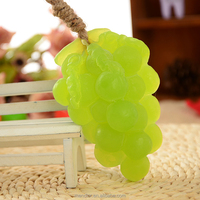 Mendior Wholesale Thai fruit green grape handmade soap with rope home funny hand face soap