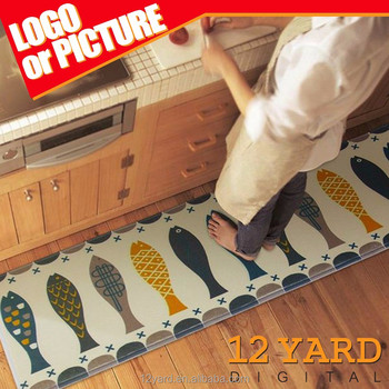 Custom Printed Foot Mat/pad Ground Mat Carpet For Living Room Or Kitchen