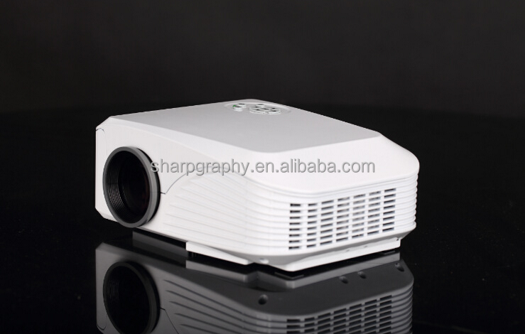 Micro Full HD 4K LED Mini 3D WIFI Projector HX888 with Android System Portable Video Beamer Projektor