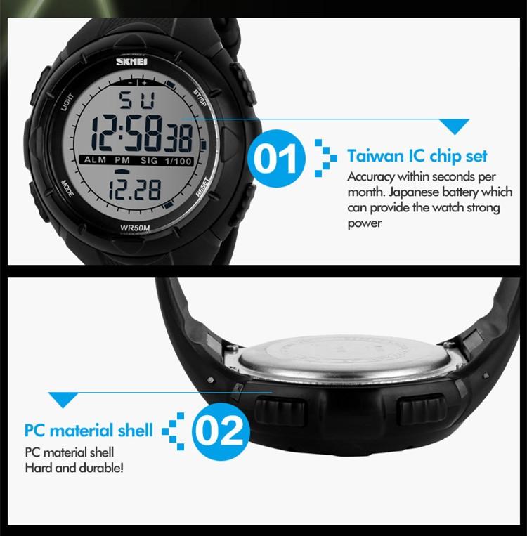 China Wristwatch Suppliers Skmei 1025 Waterproof Sports Watch ...