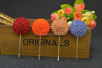 Handmade silk ribbon carnation mens flower lapel pins for formal handmade silk ribbon carnation mens flower lapel pins for formal suits mightylinksfo
