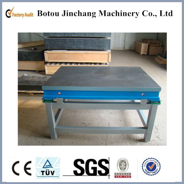 Precision Inspection Flatness Measurement Cast Iron Three Coordinate Tables