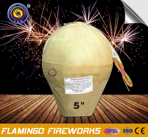 "Hot sale brands 5"" Display Shell salutes fireworks"