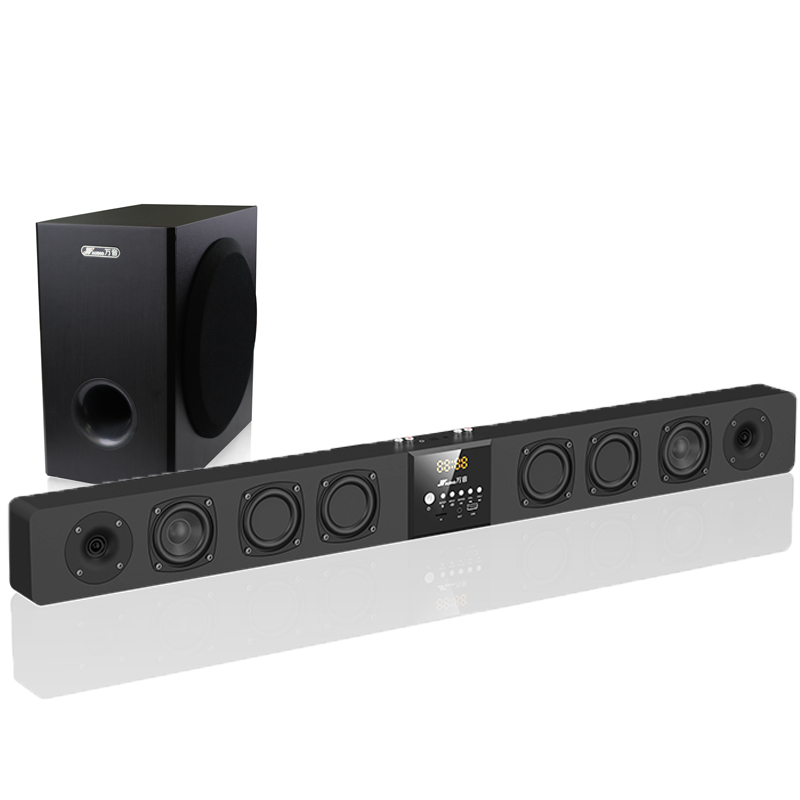 Optical/Coaxial/aux in/bluetooth Sound Bar with Subwoofer TVS-A9+S5