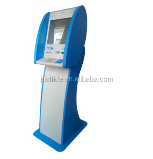 Justtide automatic kiosk with bill payment, the kiosk for hotel hospital and superarket