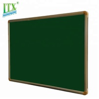 School home office slate chalk board magnetic writing green notice board