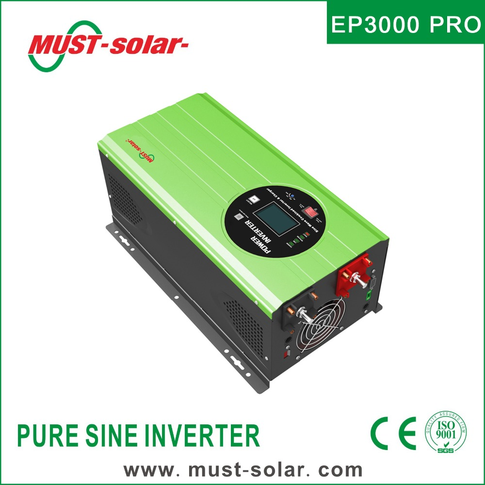 HOT! EP3000 Pro series low frequency pure sine wave 1000 watt power inverter 12v 220v