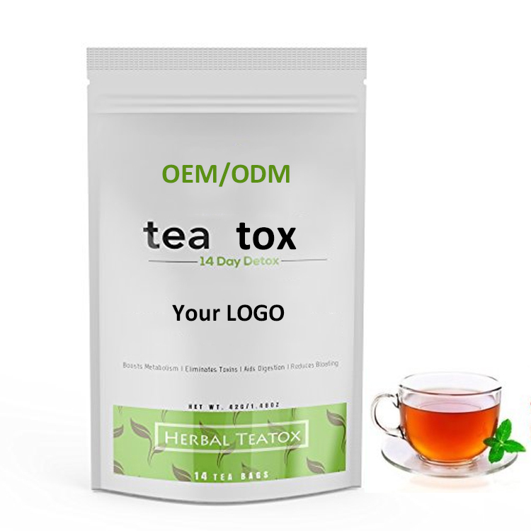 Private label 14 Day Skinny Teatox 28 Day Herbal Slimming Detox Tea - 4uTea | 4uTea.com