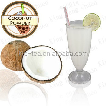 Taiwan instant tea drink coconut flavor powder