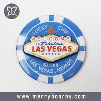 Promotional Round Shape Fridge Magnet Souvenir