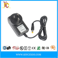 AC/DC wall-plug AU UK power adapter supply 12V 1.5A 2A 2.5A use for car dvd player