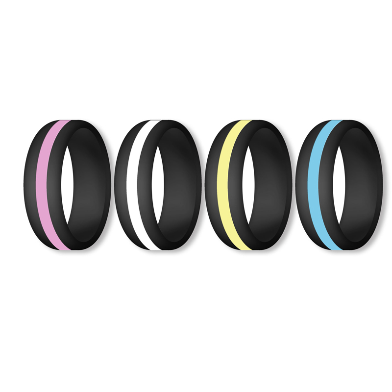 Hot Sell Amazon Items Silicone Wedding <strong>Ring</strong> for Men and Women