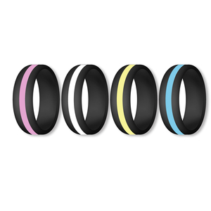 Hot Sell Amazon Items Silicone Wedding Ring for Men and Women