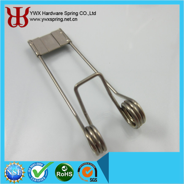 Recessed Lighting Torsion Spring Bracket : Mm nickel plating spring steel led downlight double