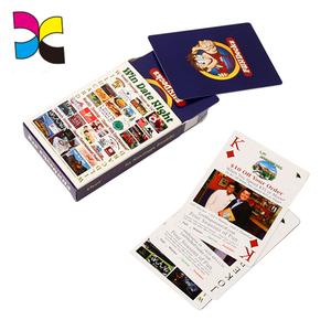 Poker Printing Customized logo custom playing children game cards with box