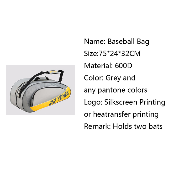 Sport Baseball Bag Waterproof