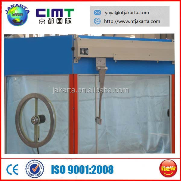 Marine Wheelhouse Aluminum / Steel Window with Clear View Screen