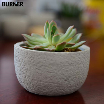 Fm07 New Arrival Wholesale Half Round Planters Buy Concrete