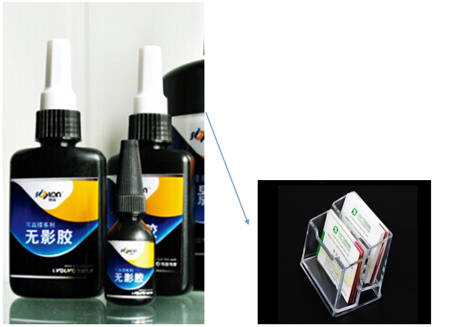 201Y Acrylic Bond Glue UV Curing Glue Adhesive for Albums