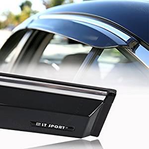 LT Sport SN#100000001178-201 For 04-09 MAZDA3 Hatchback Injection Window Visor