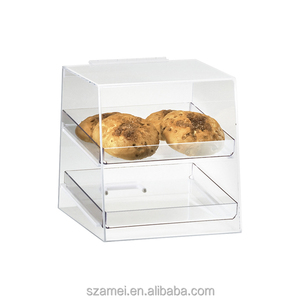 3 Layer Clear Acrylic Wedding Food Displays Cup Cake Display Stands
