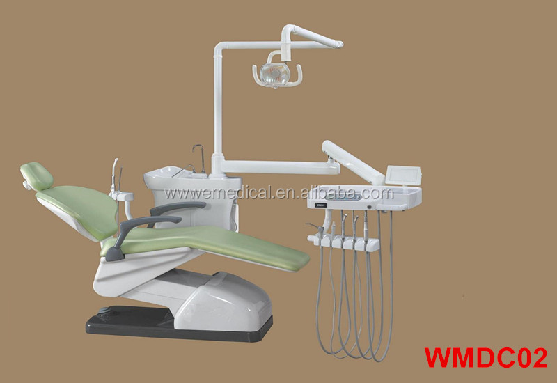 WMDC02 Dental chair with dentist stool/ Dental unit manufactured in China