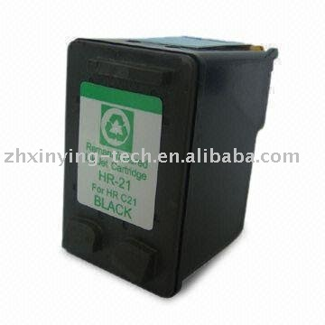 Compatible Inkjet Cartridge for HP 21/9351, with 7 to 9mL Ink Volume, Available in Black Ink Color