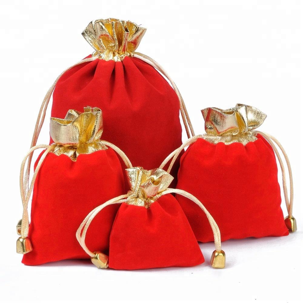 5ead022b1bba Wholesale Custom Luxury Drawstring Pouch Logo Printed Velvet Pouch Small  Jewelry Bag - Buy Small Jewelry Bag,Velvet Pouch Bag,Custom Velvet  Drawstring ...