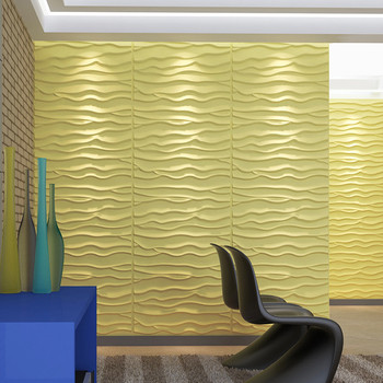 Interior Decorative Material Vinyl Coated Gypsum Panel