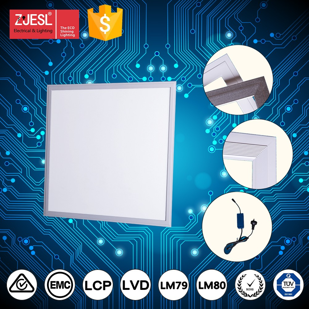 High CRI 24W 80lm/w 450 x 450 PF>0.95 led flat panel lighting factory