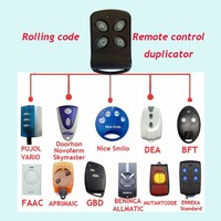 Manufacturer Universal Rolling Code Remote Control Duplicator Code BFT Remote Contrl