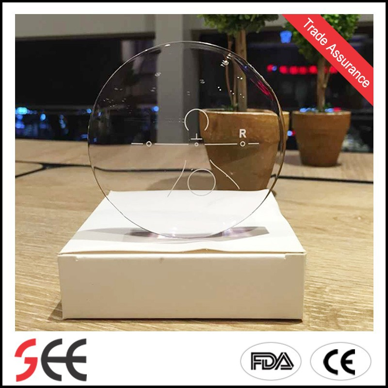 wholesale 1.591 pc polycarbonate progressive China ophthalmic optical lenses with glass