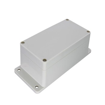 Weatherproof junction box plastic outdoor electric meter box electrical junction box with flange