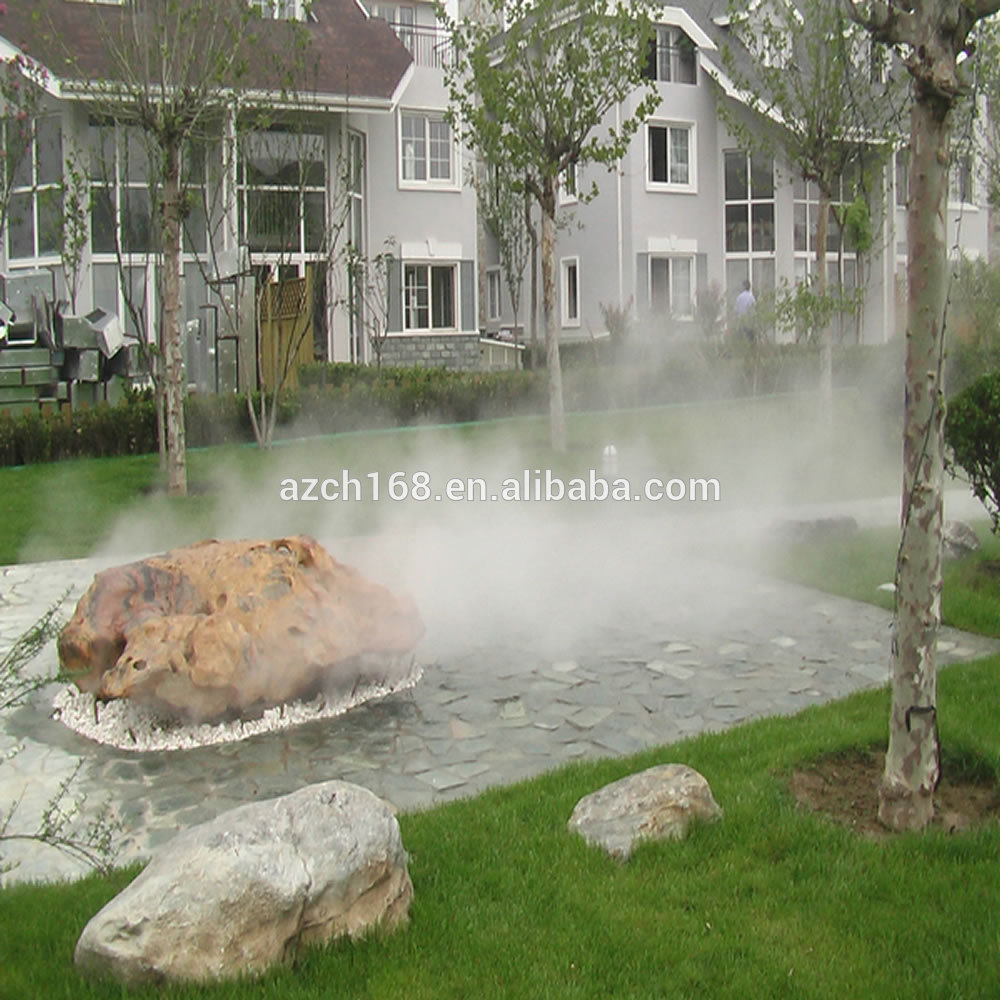 Garden Artificial Fog Fountain Artificial Mist Water Fountain For Air Purification Buy