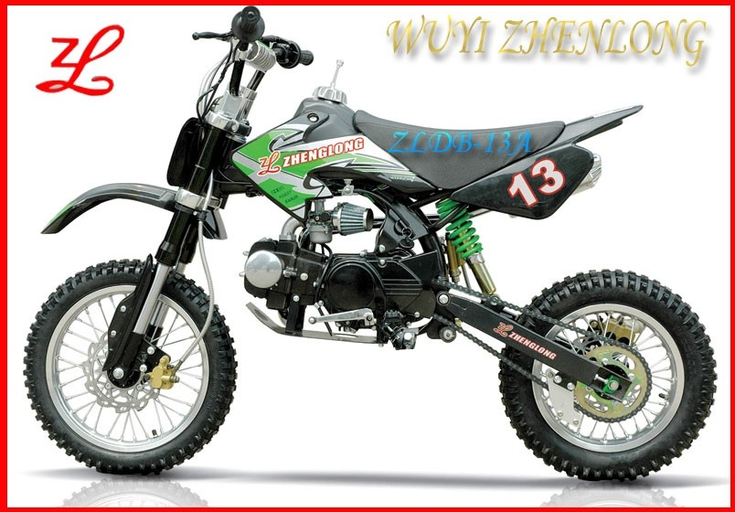 Off road adult 2 wheeler monster colored dirt bike