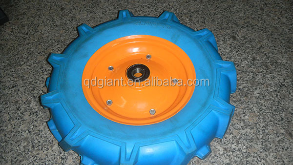 Solid polyurethane tire, pu foam wheel 4.00-8/pu foam tire