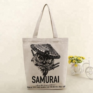 Sample Supply Shopping Plain White Cotton Canvas Tote Bag