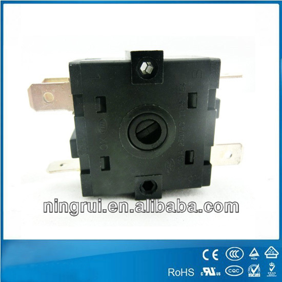 toaster, hanging ironing machine rotary switch with ROHS and REACH approvals switch for welding machine
