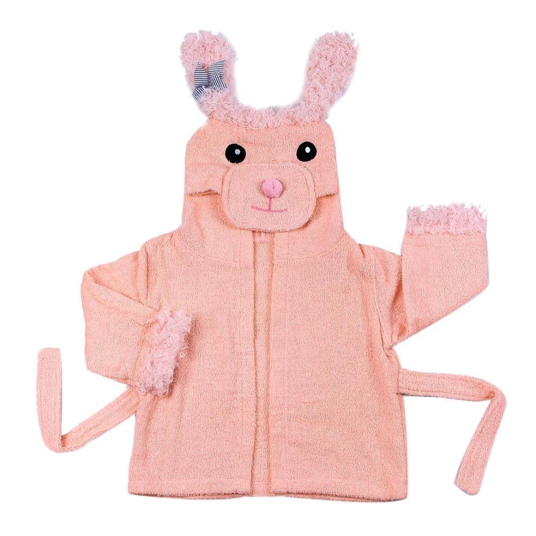 Creazy® Cute Designs Hooded Animal modeling Baby Bathrobe Cartoon Baby Towel (68)