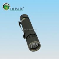1 AAA mini cheap waterproof shockproof led aluminum flashlight
