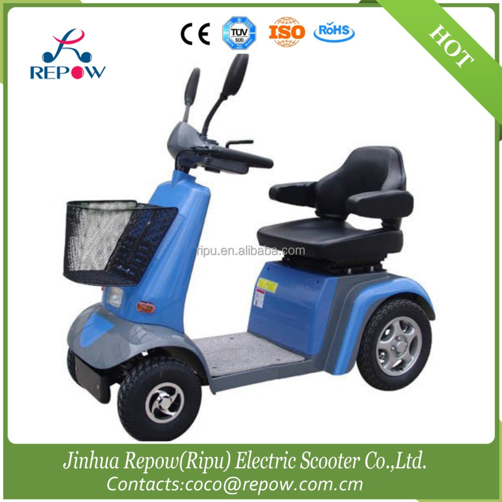 China Four Wheel Electric Mobility Scooter with Luxury Chair For Elderly