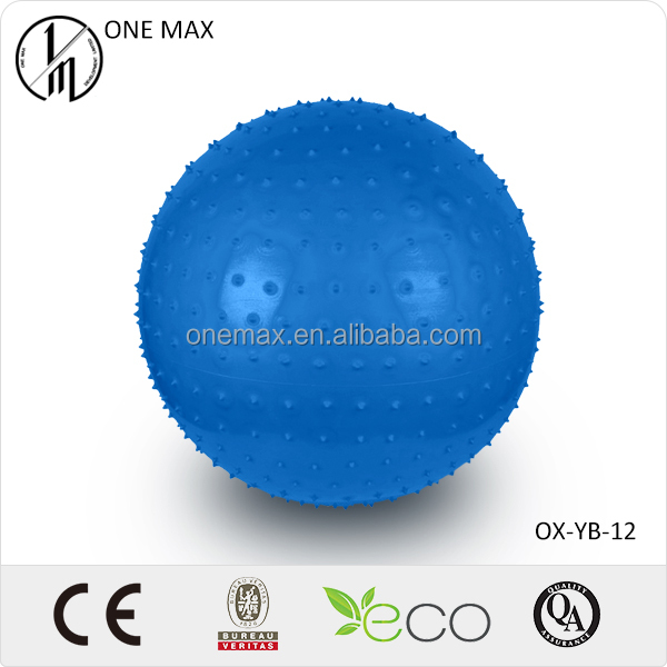 Custom Spiky Inflatable Yoga Massage Ball