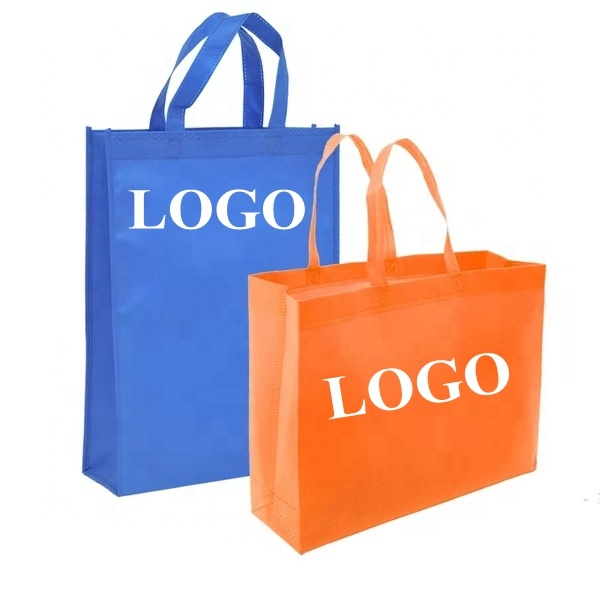 custom printing logo designs reusable fabric non woven <strong>eco</strong> tote shopping bag with logo