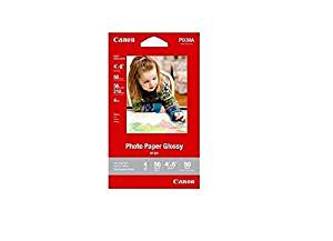 Cannon Photo Paper 4x6 Glossy Finish 50 Sheets Per Pack High Gloss GP-601