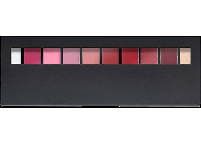 Wholesale Custom 10 Color Lipstick Palette Make Up Private Cream Lip Palette