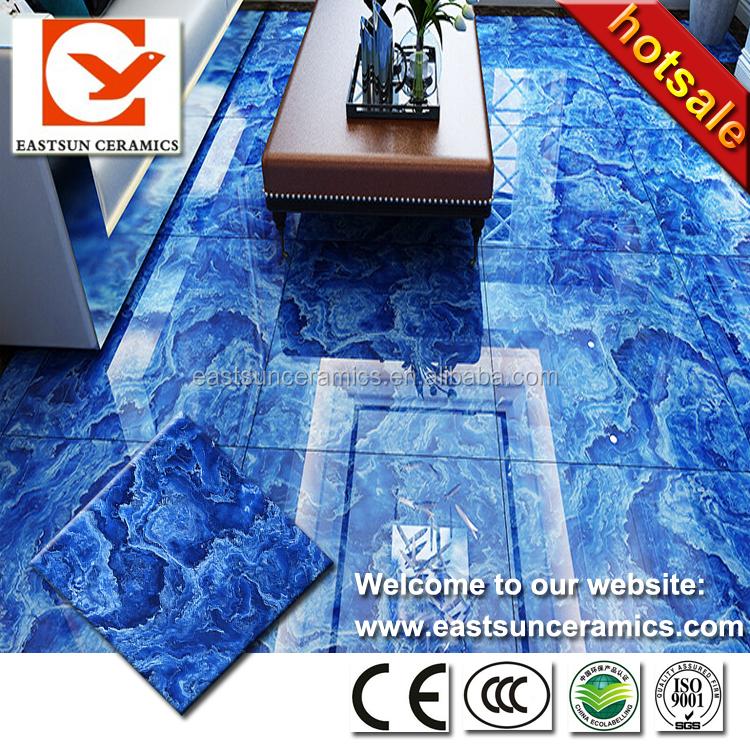 12x12 Blue Ceramic Floor Tile
