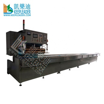 Auto Walking High Frequency PVC Membrane Curtains Welding Machine for Sun Shading_PVC Curtain Cloth_Sun Screen Seam H.F Welding